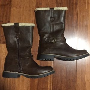 Sonoma Brown Lined Boots